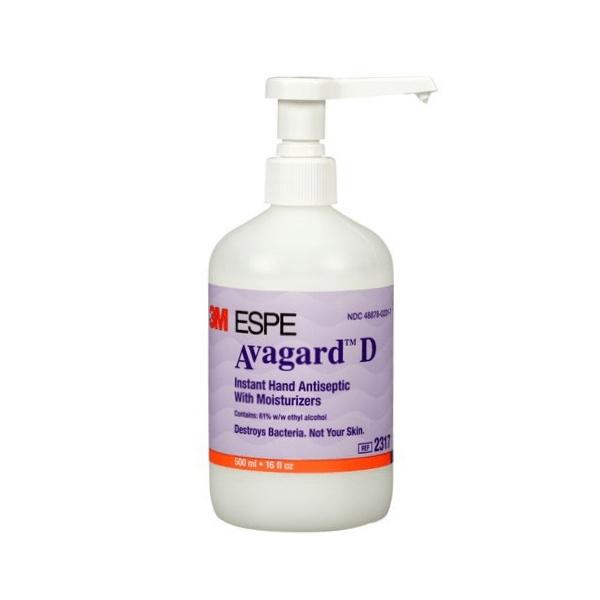 3M Avagard D Instant Hand Antiseptic D 500ml Pump Bottle image
