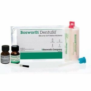 Bosworth Dentusil Silicone Soft Reline Material Standard Kit from Supply Doc