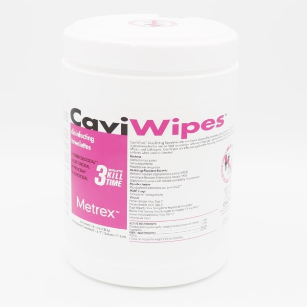 CaviWipes Disinfecting Towelettes 160 Qty Effective on COVID-19 image