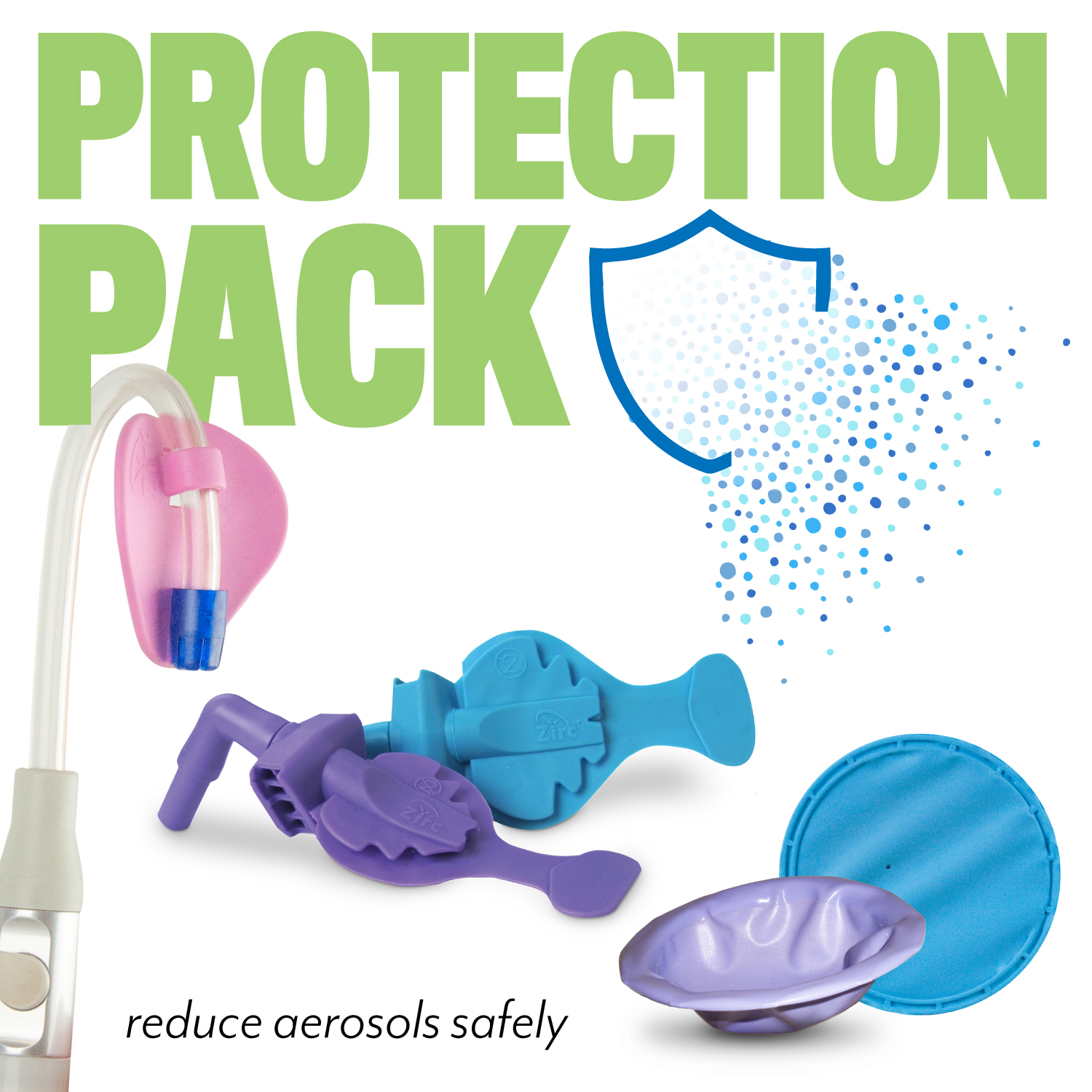 Protection Pack for Aerosol Reduction