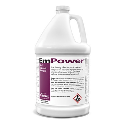 metrex empower dual enzymatic cleaner