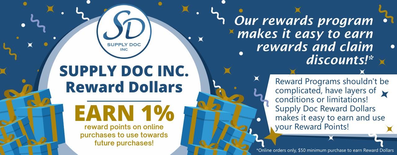 Supply Doc Reward Program Hero Image