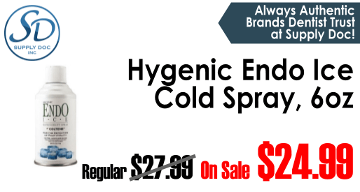 Save On Hygenic Endo Ice Cold Spray at Supply Doc