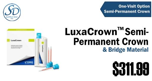 LuxaCrown Semi-Permanent Crown & Bridge Material image